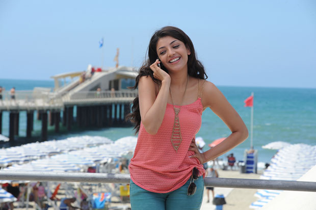 Kajal Agarwal in Sarocharu Movie