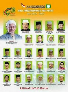 KABINET / AJK PAS MALAYSIA : 2013-2015
