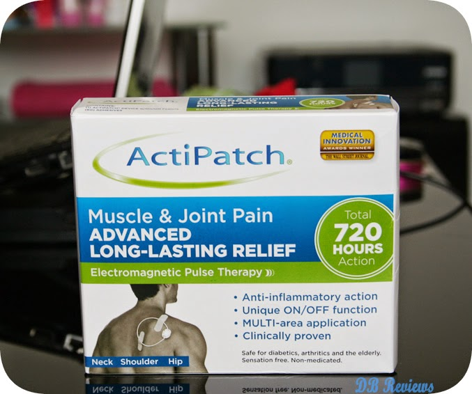 ActiPatch® Advanced Long-Lasting Pain Relief