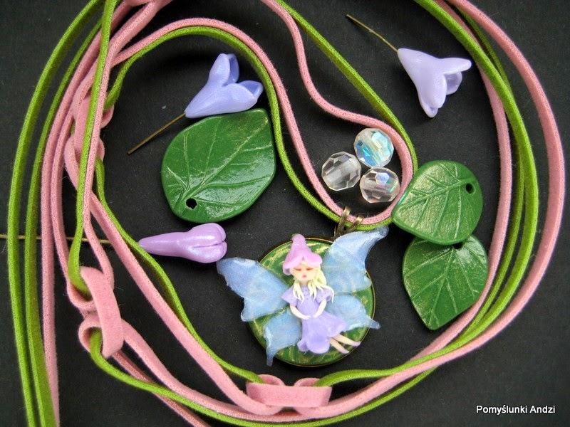 wróżka, fairy, pendant, wisiorek,