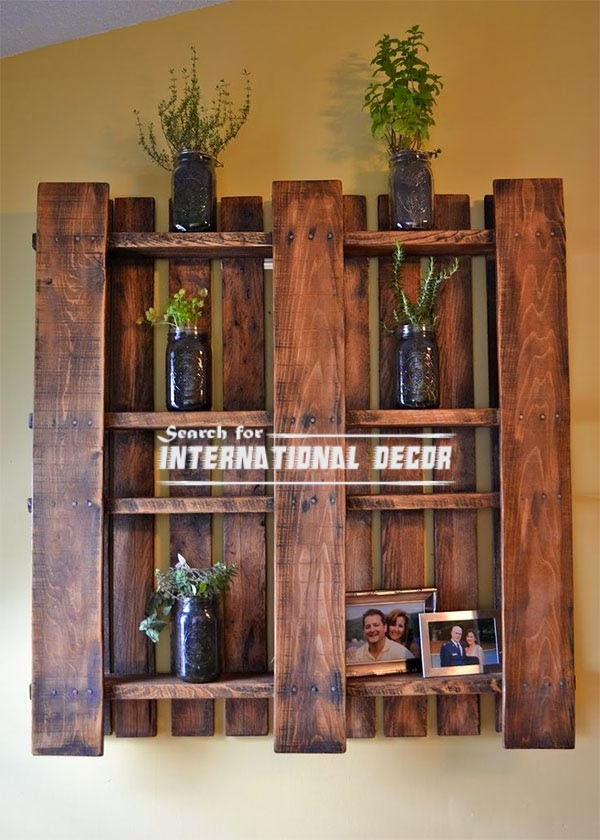 Creative recycle ideas, recycle ideas, recycling fruit boxes,wall shelves