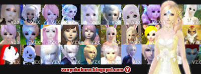 VZX Yokebone | Yokebone Perfect World | Male - Female | AR PR WR MG BS FX AS PS SK MS | Get Your Extreme Face of Your Character in PW