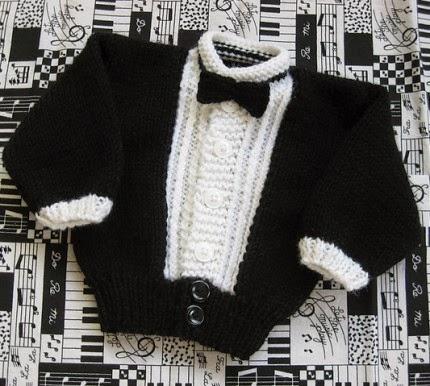 Li'l Tux for Baby - Free Pattern