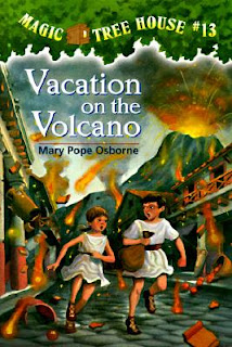 The book cover of Vacation Under the Volcano