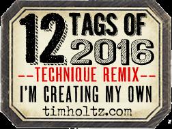 Jeg deltager i Tim Holtz Challenge
