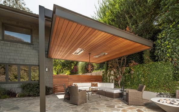 Fotos de techos precios de machihembre para techo Fotos de techos para patios