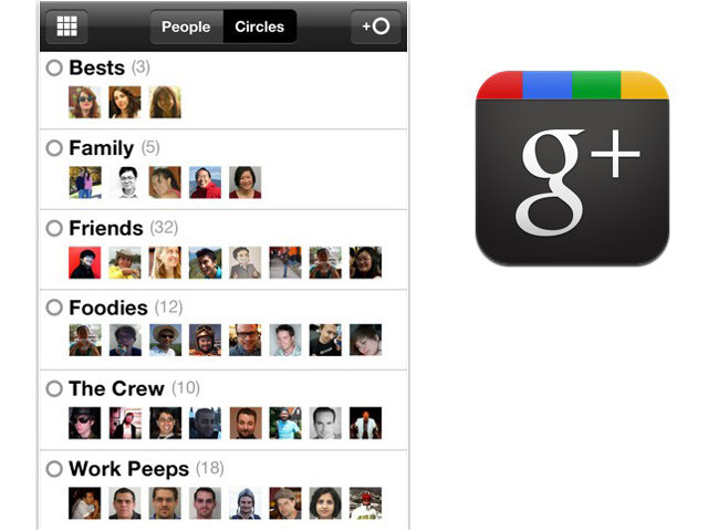 Google + App Available for All iOS Devices