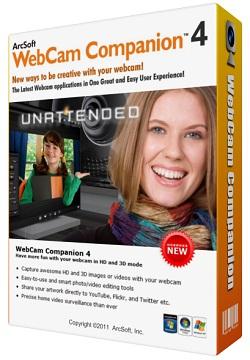 Webcam companion 4 Español Graba en HD y 3D