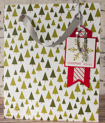 How to Make an Extra Large Gift Bag with the Stampin' Up! Gift Bag Punch Board - Free Tutorial here