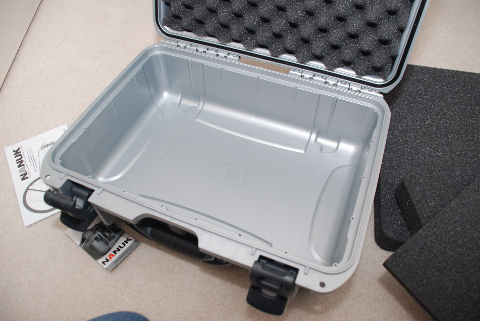 Titam Technical Issues That Affected Me January 2012 Nanuk 925 Padded Divider Insert For Case Just The Plastics Maam