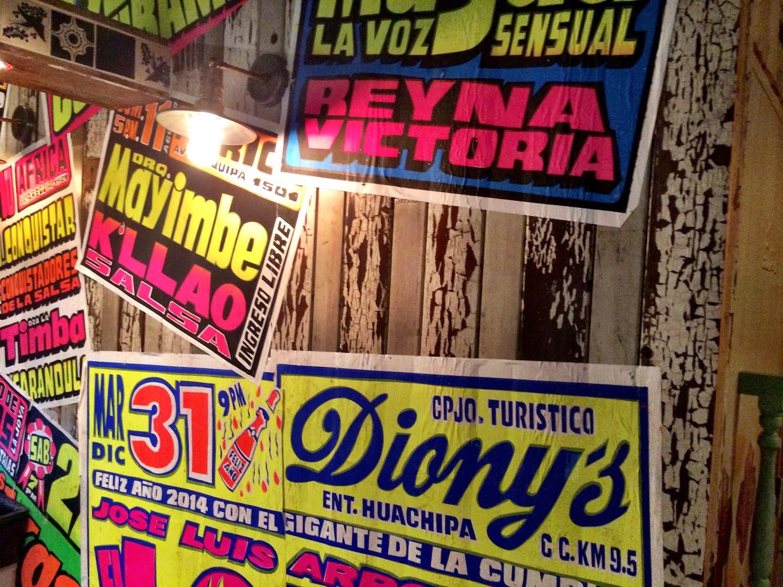 Senor Ceviche - Neon signs