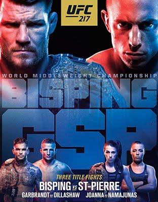 Ver UFC 217 Bisping vs ST-Pierre En VIVO