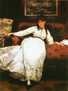 Эдуар Мане. Отдыхающая. Портрет Берты Моризо. 1870.