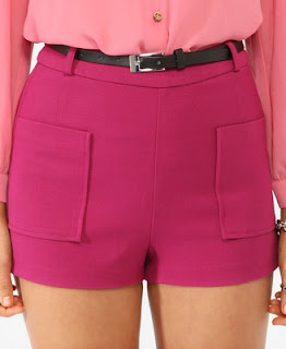 Forever 21 Retro Shorts with Belt