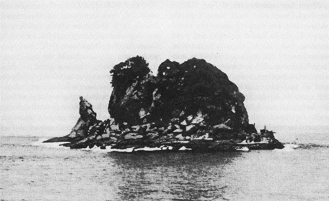 Fuerte Drum acorazado de hormigón isla El Fraile