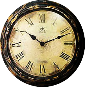Zoom dise o y fotografia relojes vintage para scrap con fondo transparente - Mecanismo para reloj de pared ...