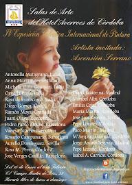 Enero doble inauguración: IV ExposiciónColectiva Internacional de Pintura Hotel Averroes.
