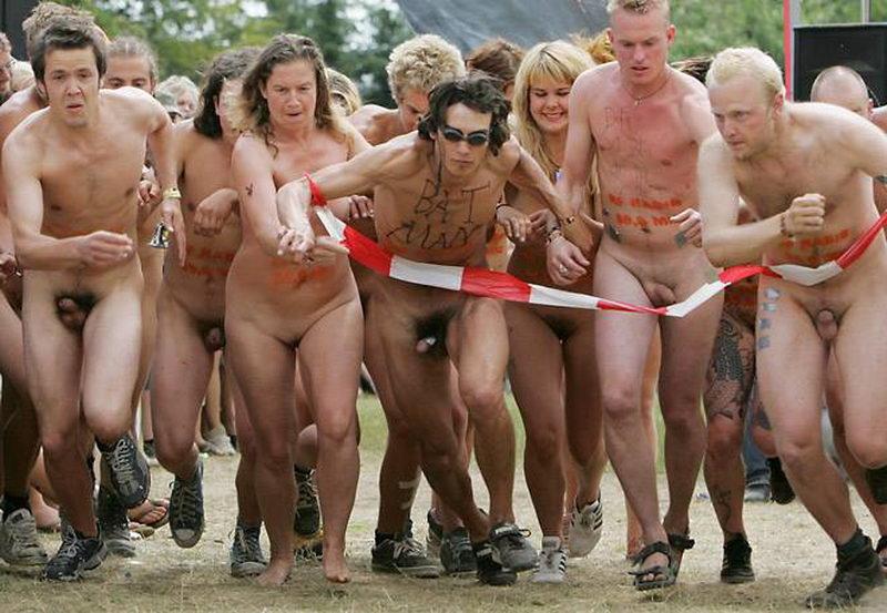 Universidad de michigan naked mile