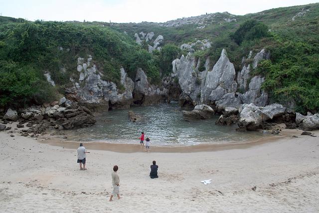 Pantai atas darat