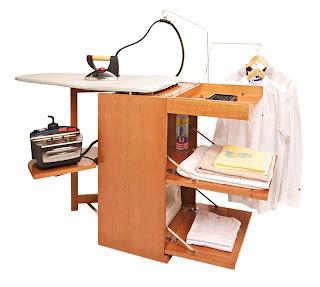 Para planchar mejor decoracion y manualidades for Mueble tabla planchar