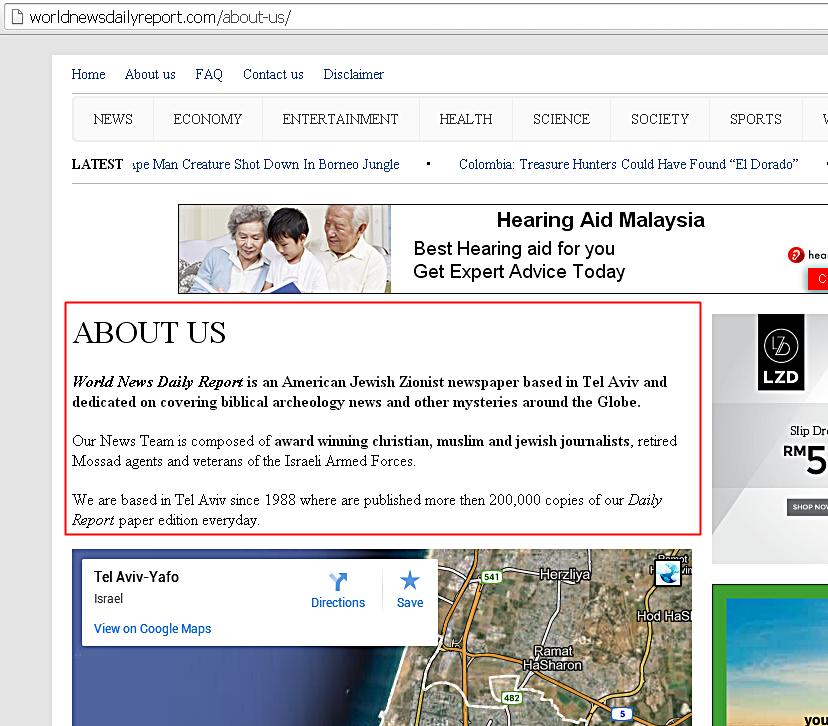 laman web israel zionis suka suki tabur fitnah kat Malaysia MAS MH131 agenda jahat Yahudi