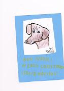 Dibujos de perros: Dibujo de un teckel cci
