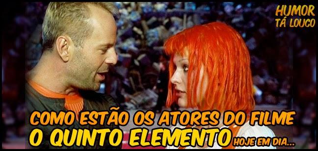 Atores do Filme O Quinto Elemento atualmente
