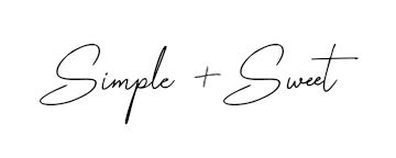 Simple + Sweet