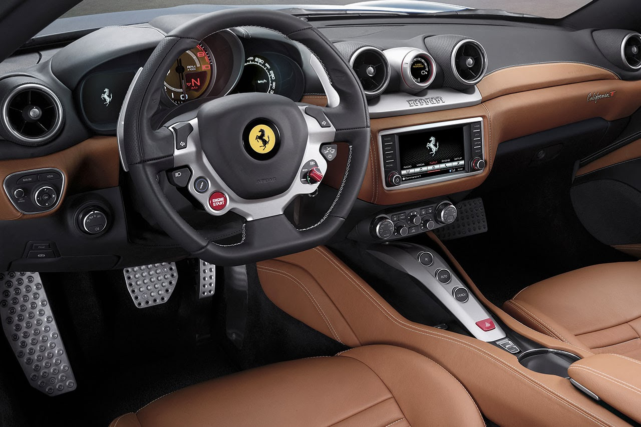 Ferrari California T dash