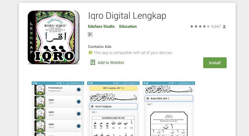 5. IQRO Digital Lengkap