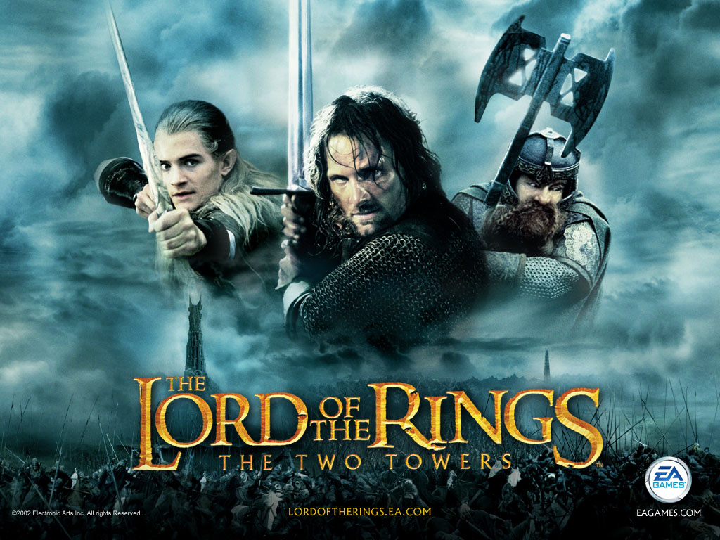 Le Seigneur des Anneaux / The Hobbit #4 The-lord-of-the-rings-two-towers-1
