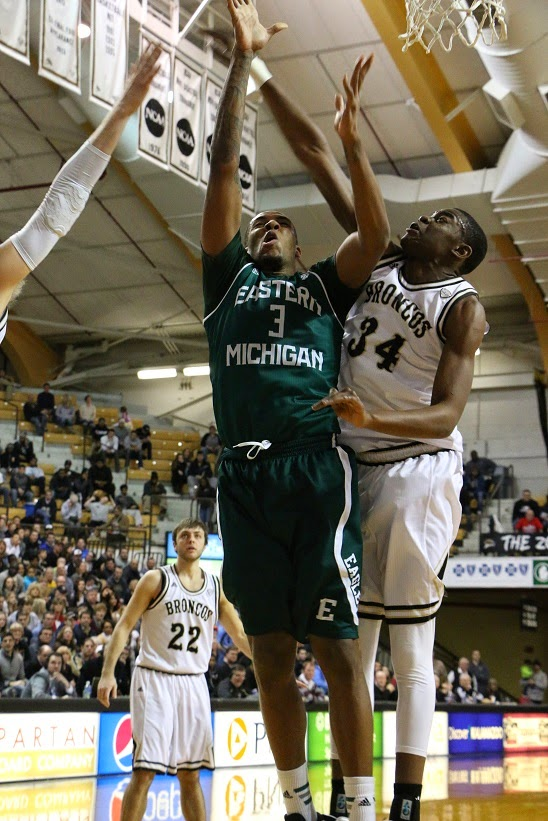 Michigan Exposures: Eastern Michigan Basketball Vs Western ...