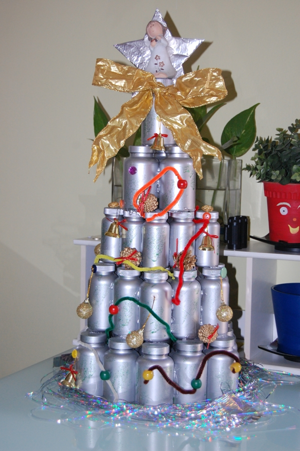 Christmas Decor Made From Recycled Materials : Honey boyz crafts ideas for the holiday season dec