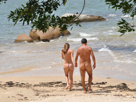 ADEPTA DO NATURISMO D DICAS SOBRE 8 PRAIAS DE NUDISMO OFICIAIS DO PAS  VEJA FOTOS