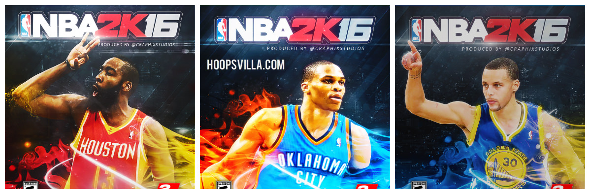 NBA 2k16 Cover Art