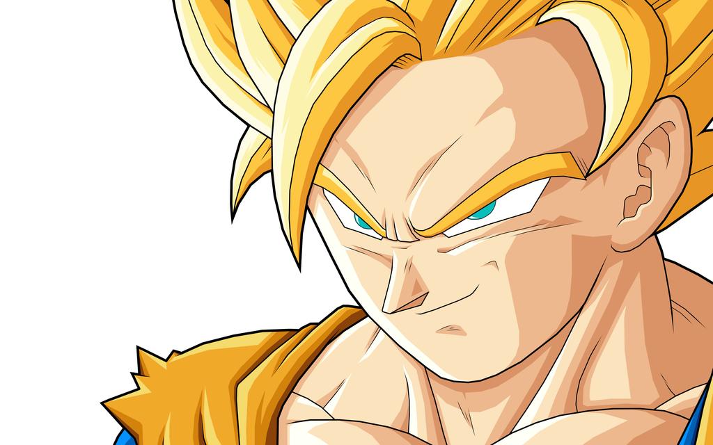 DRAGON BALL Z WALLPAPERS: Goku super saiyan 2 Dragon Ball Z Goku Super Saiyan 2 Wallpapers