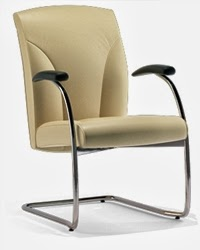 Oslo Sled Base Chair by Via Seating