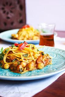 Espaguetis marroquis
