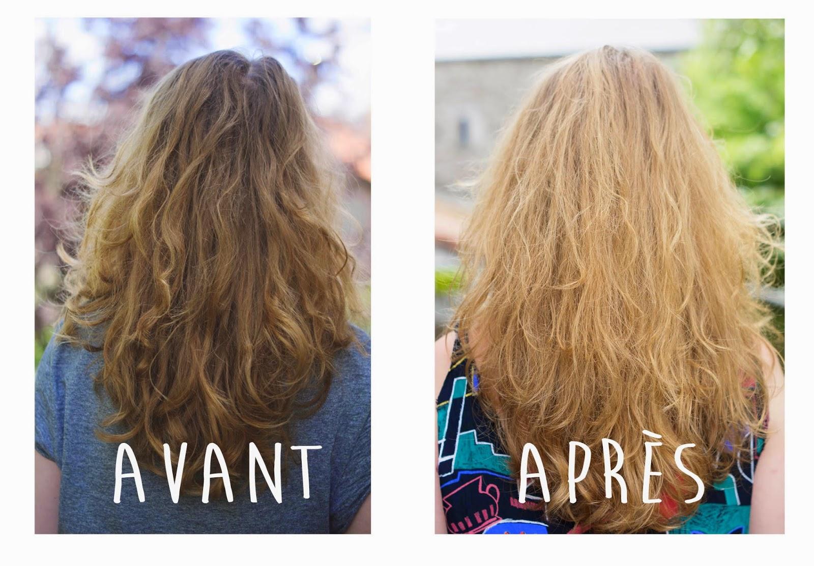 mes cheveux ont un effet retour de vacances la plage des mches plus blondes des reflets dors et un effet super naturel - Gele Claircissante Garnier Sur Cheveux Colors