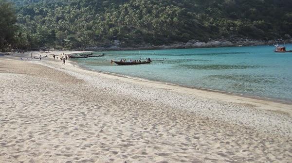 Les 8 plus belles plages de Thaïlande - Bottle Beach à Koh Phangan