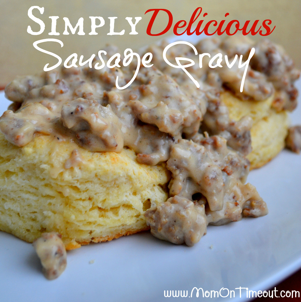 Simply Delicious Sausage Gravy from MomOnTimeout.com | This is my Nana ...