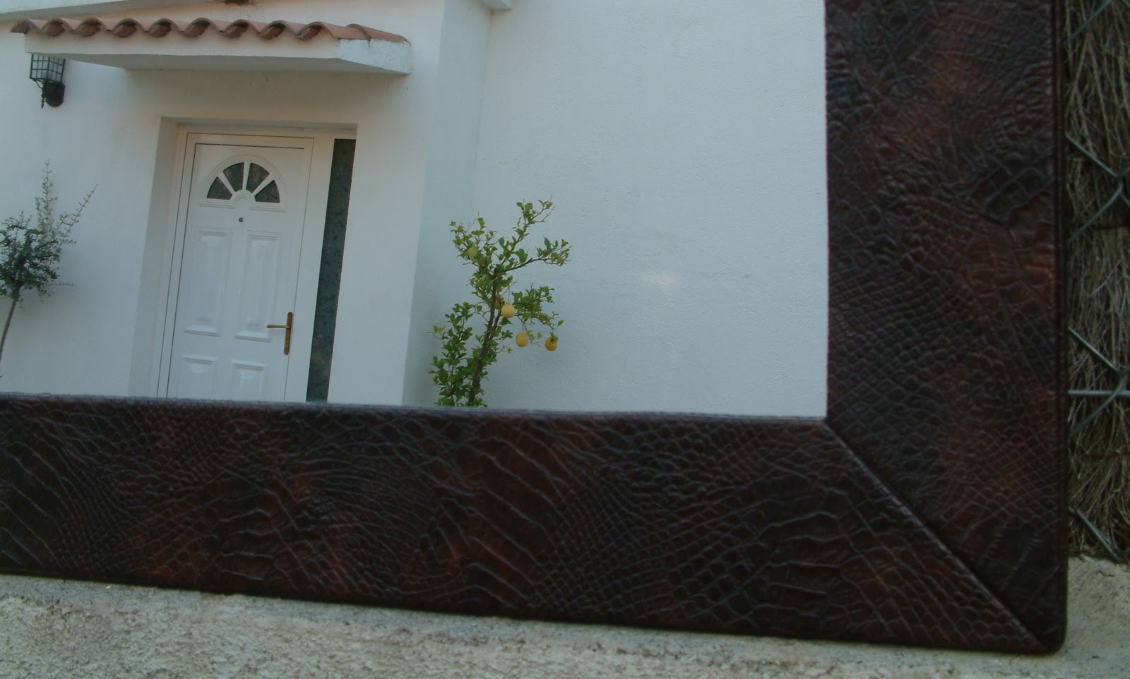 Tapízame...: Cartones tapizados: El marco