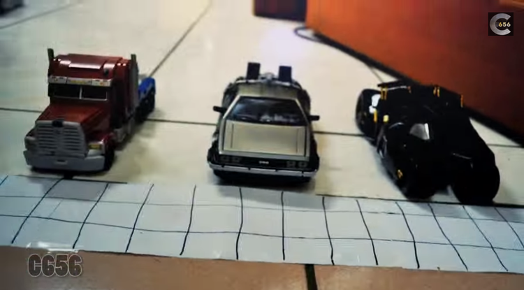 Awesome Stop-Motion Movie Car Race!
