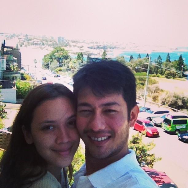 Gambar Bulan Madu Farid Kamil Dan Diana Danielle Di Sydney