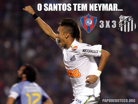 Santos empata com Cerro Porteño, mas avança a final da Libertadores 2011, com direito a gol de Neymar