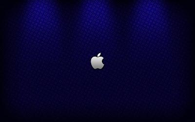 Elegant Great Blue Apple Wallpapers Desktop Background