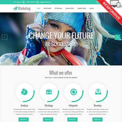 Template Joomla VT kusus Marketing Web Versi 2.5 & 3.2