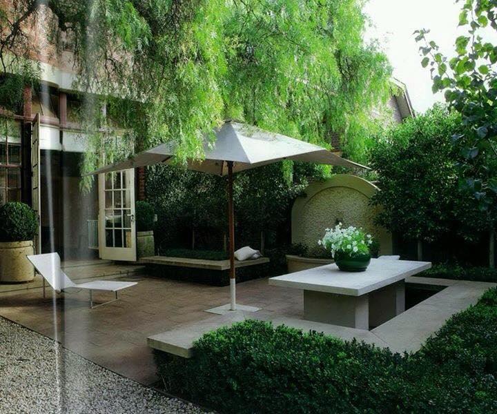 Desain Bangku Taman Rumah Minimalis