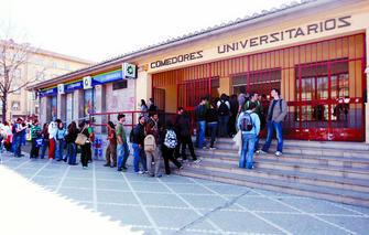 Coordinadora sindical estudiantil subida de precio en los for Menu comedores ugr