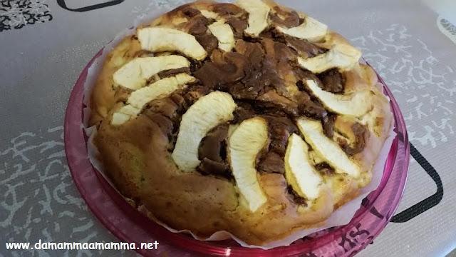 ricetta-torta-mele-e-nutella